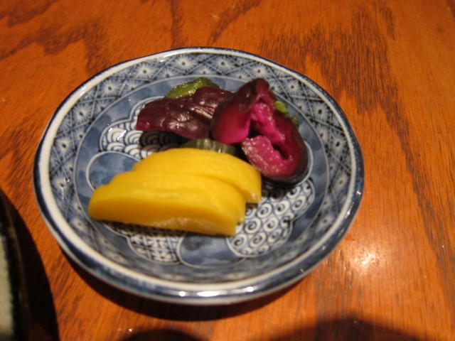 Japanese pickles