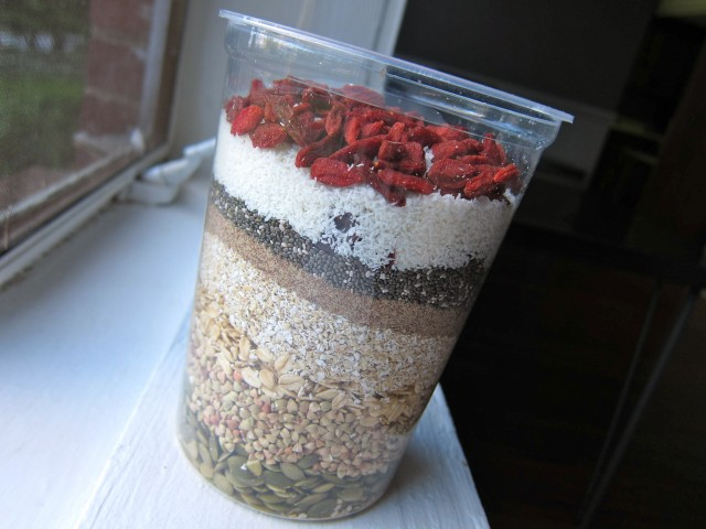 Layered muesli