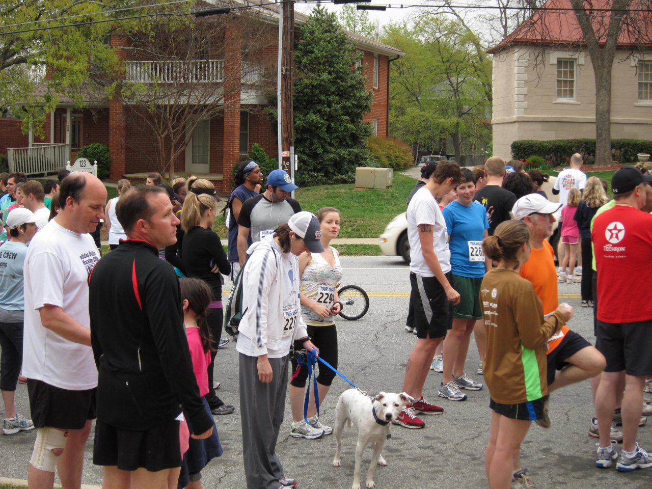 About to start Tour Decatur 5k