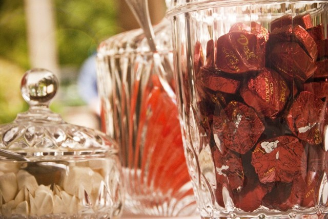 Wedding candy dishes