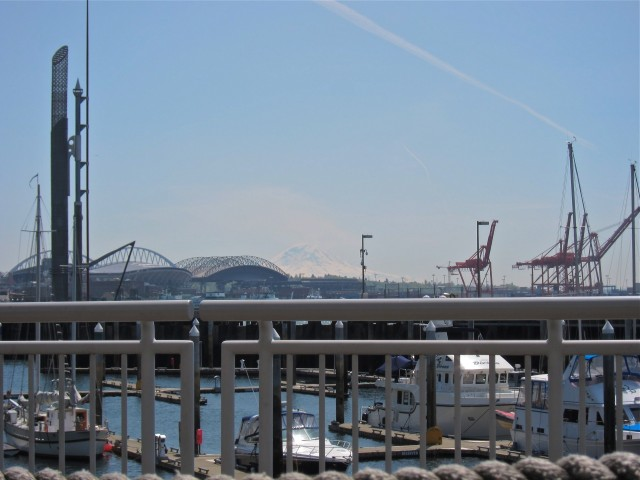 Mt. Rainier in the distance