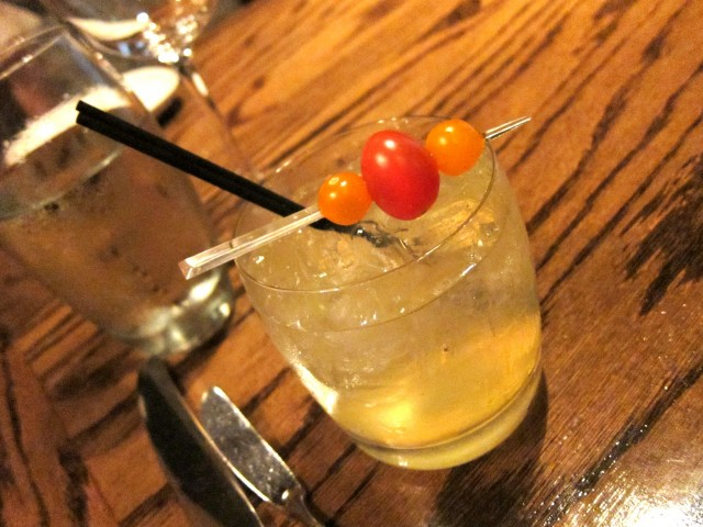 Heirloom tomato cocktail