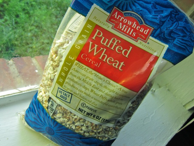 Arrowhead Mills puffed wheat