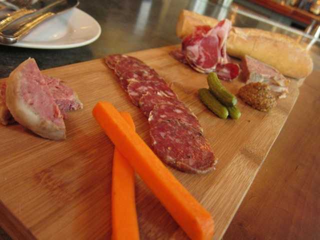 Leon's charcuterie platter