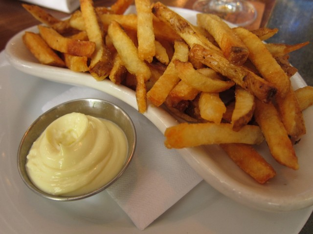 Leon's fries and garlic aioli
