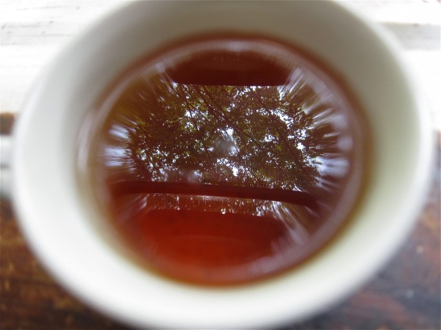 Reflection in keemun tea