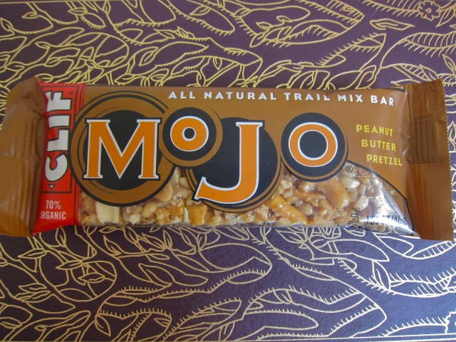 Clif Mojo peanut butter and pretzel
