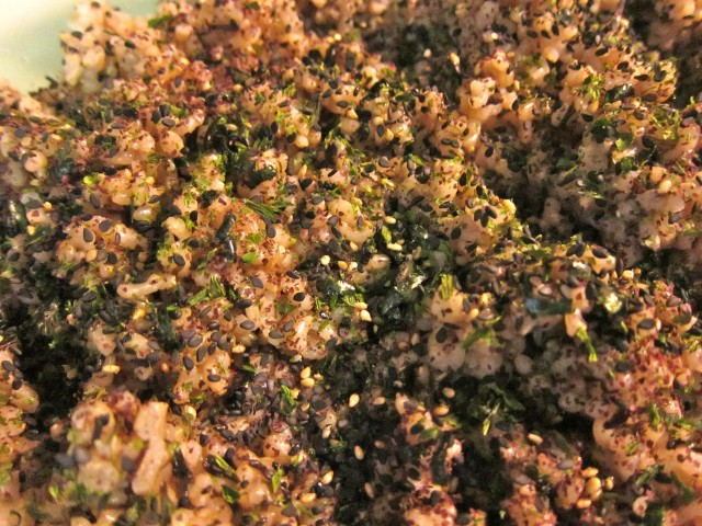 Seaweed brown rice