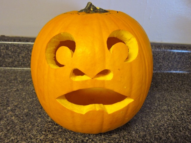 carved pumpkin