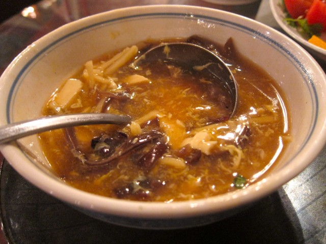 Cafe 101 hot and sour soup