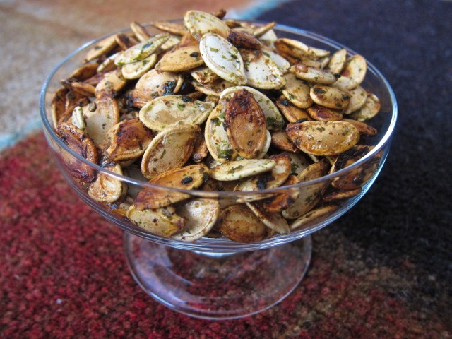 Japanese pumpkin seeds