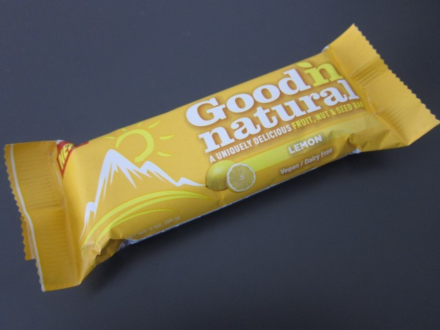 Good n' natural lemon bar