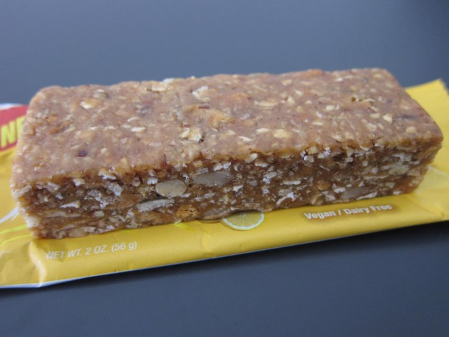 Good n' natural lemon bar unwrapped