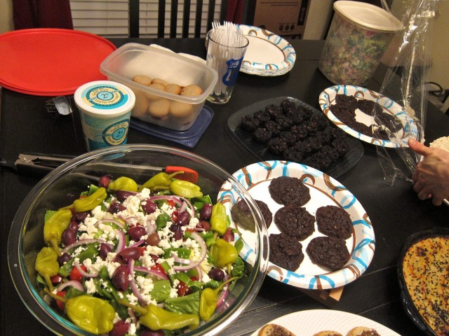 Potluck spread 2