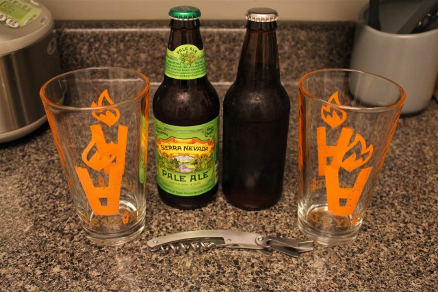 Sierra Nevada Pale Ale and our clone