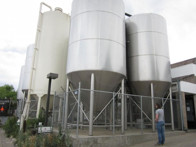 Avery beer tanks