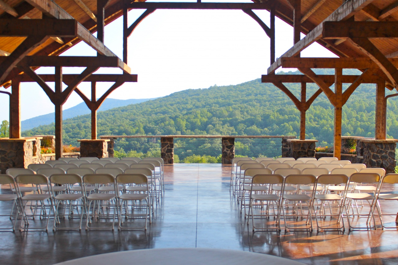 The Owners Of Vineyard Built This Grand Outdoor Event Hall For Their Daughter Who Wanted To Be Married On Family Property