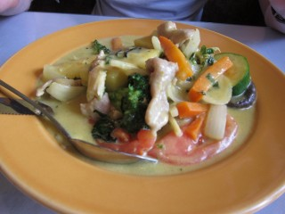Chez Thuy green curry