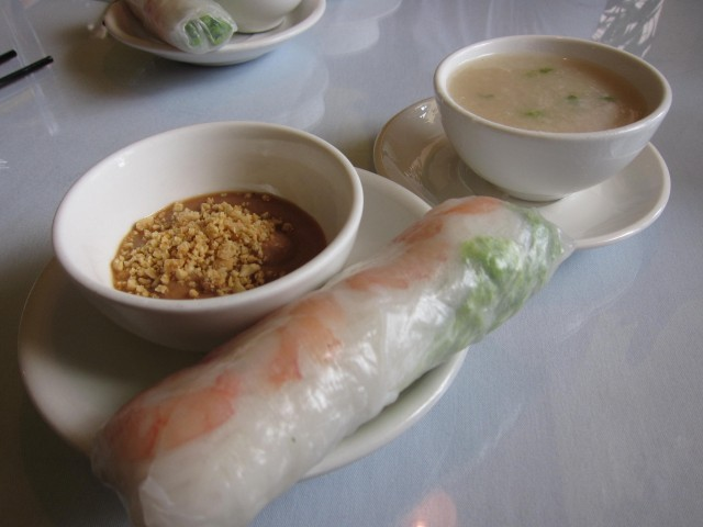 Chez Thuy spring roll