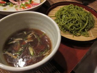 Duck soba at Amu