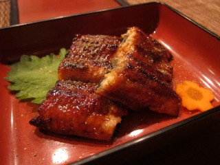 Grilled eel at Amu