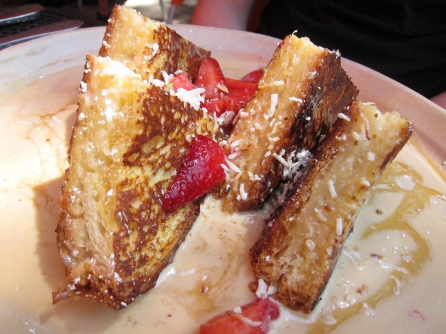 OMG french toast at Snooze