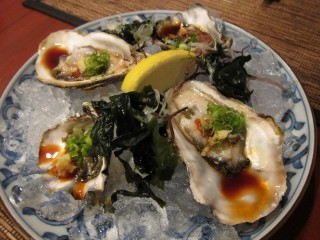 Oysters at Amu
