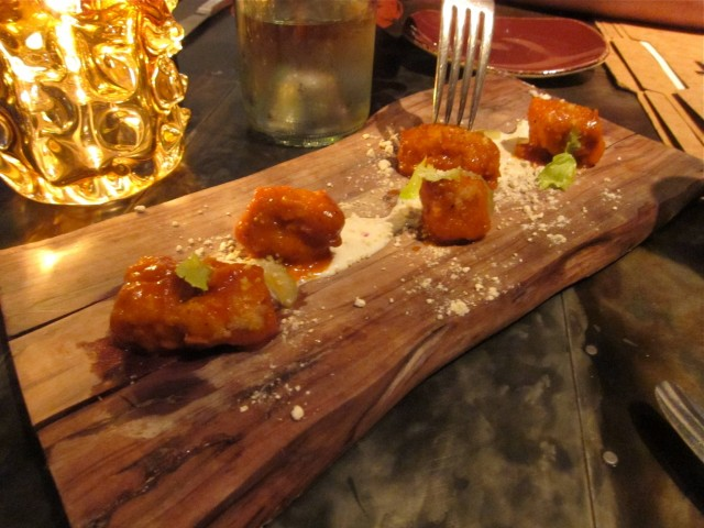 Buffalo sweetbreads
