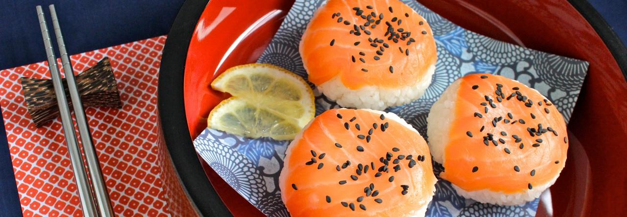 Smoked Salmon Temari-zushi