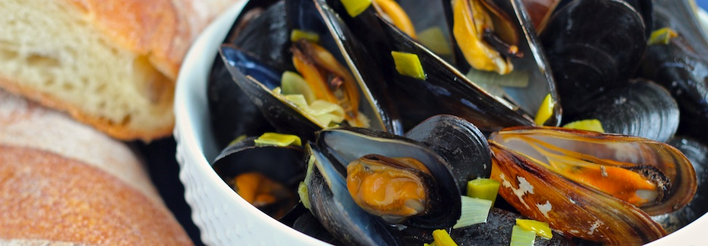 Sake-steamed Mussels