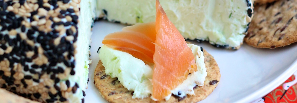 Wasabi Party Cheese Ball