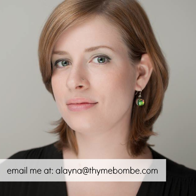 Alayna Tucker, Author of ThymeBombe.com