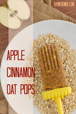 Apple Cinnamon Oat Pops
